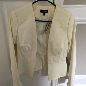 White Bebe blazer